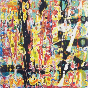 Abstract painting by Matthew Webber